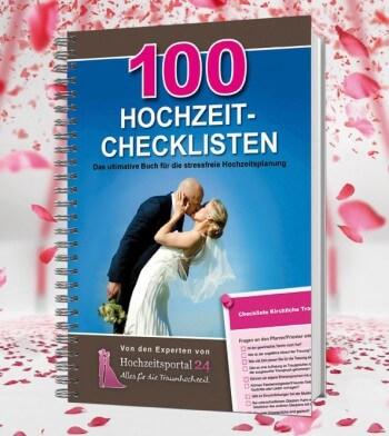 Hochzeitsbuch: 100 Hochzeit-Checklisten