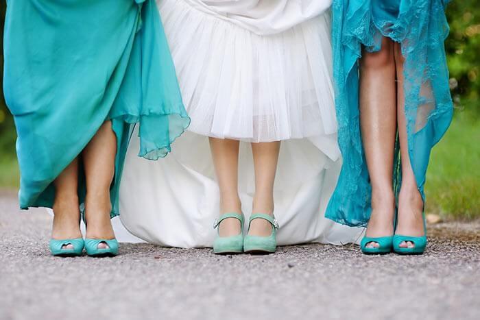 Brautjungfern Schuhe