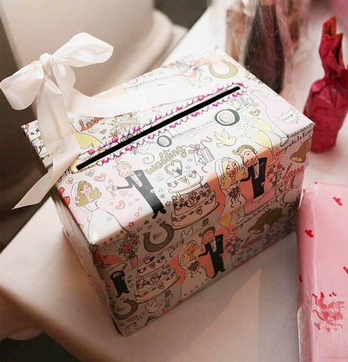Briefbox Hochzeit basteln