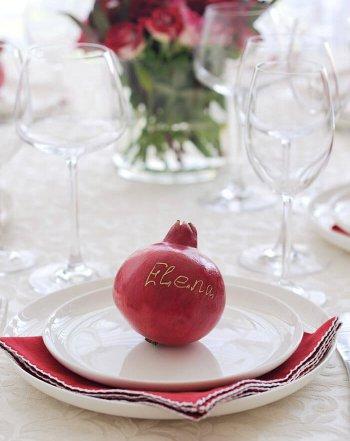 Essbare Tischkarten Hochzeit