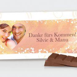 Gastgeschenk Schokolade