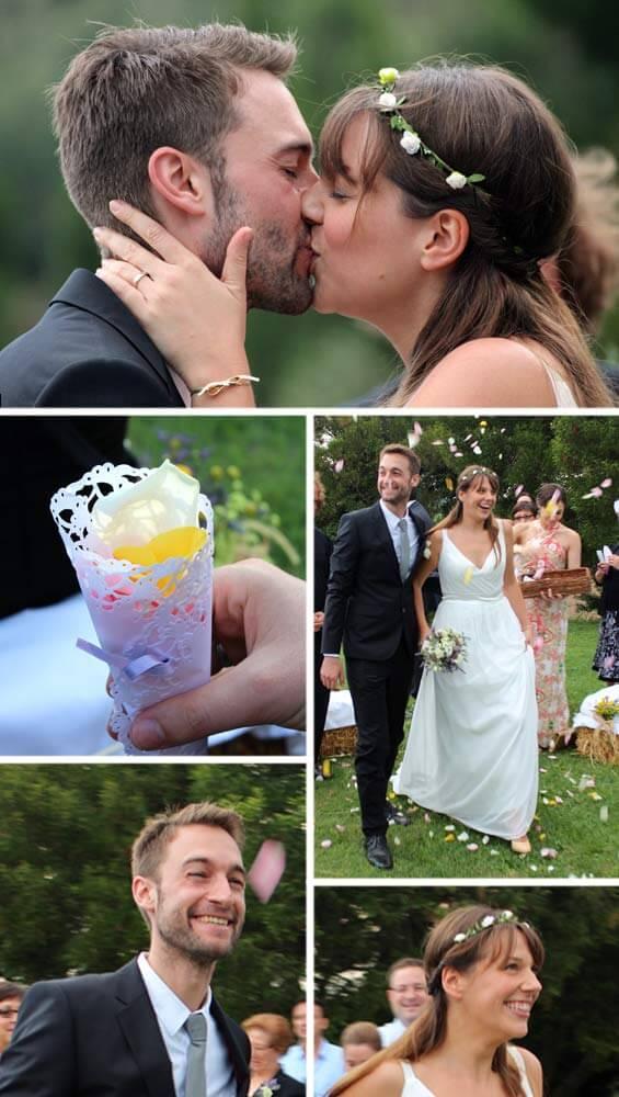 Heiraten im Freien Wiesenhochzeit