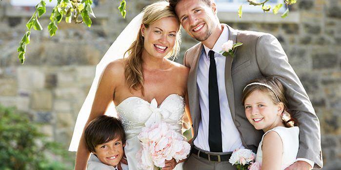 Heiraten mit eigenen Kindern