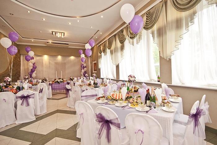 Hochzeitsdeko mit Ballons