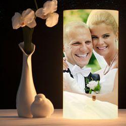 Fotolampe als Hochzeitsgeschenk