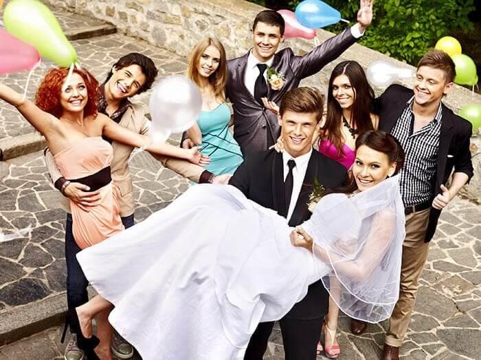 Hochzeitsoutfit Gäste