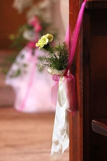 Kirchenschmuck zur Hochzeit - Galerie Hochzeitsportal24
