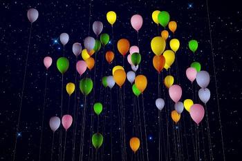 LED Luftballons zur Hochzeit
