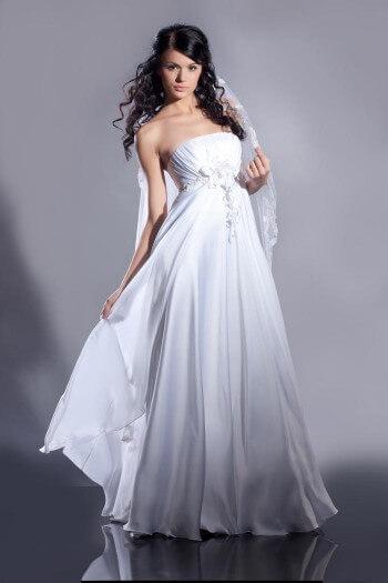 Brautkleider mit Empire-Schnitt