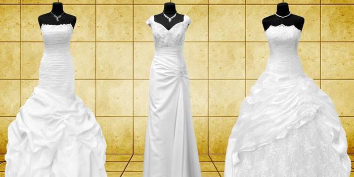 Brautkleider: Formen und Schnitte