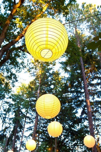 Lichterkette Lampions