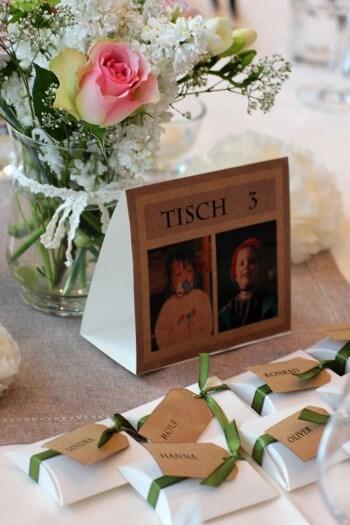 Bilder Tischdeko Hochzeit