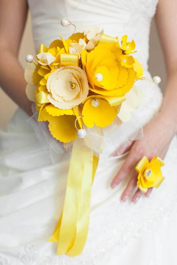 Brautstrauß künstlich