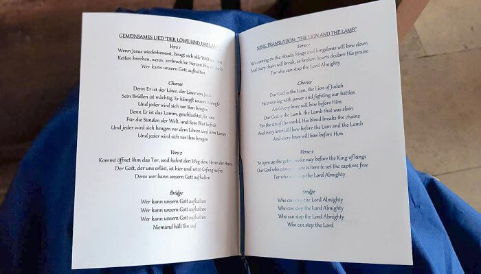 Christliche Hochzeitslieder