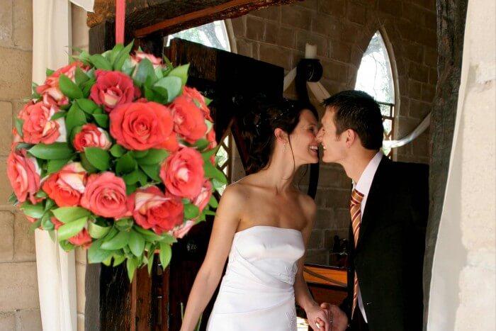 Hochzeit Kirche Rosen