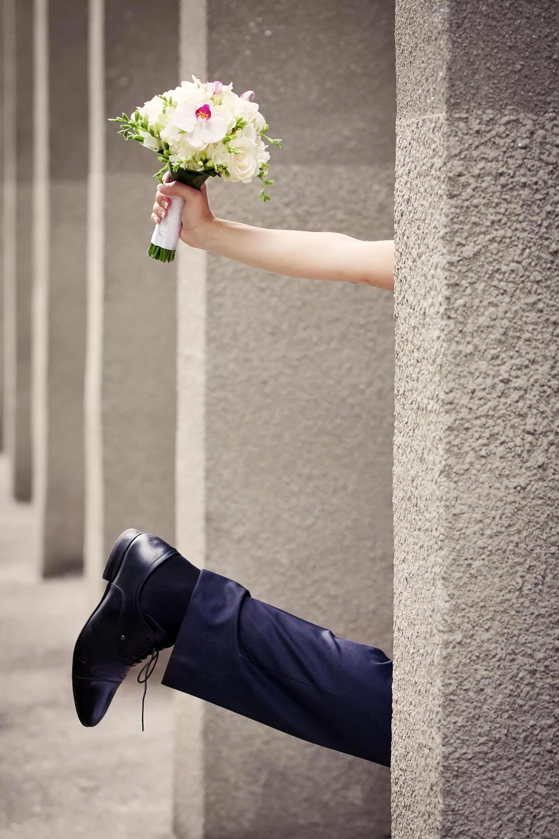 Hochzeitssketche Bild lustig