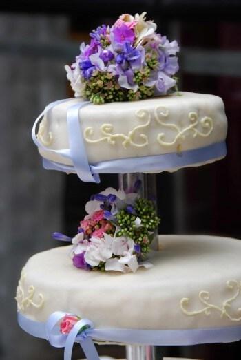 Hochzeitstorte Etagere