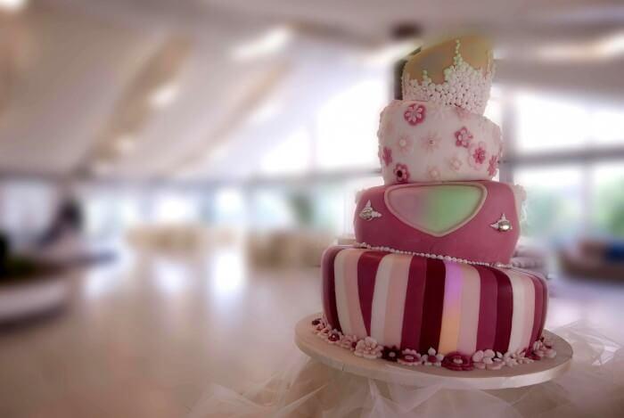 Hochzeitstorte kreativ