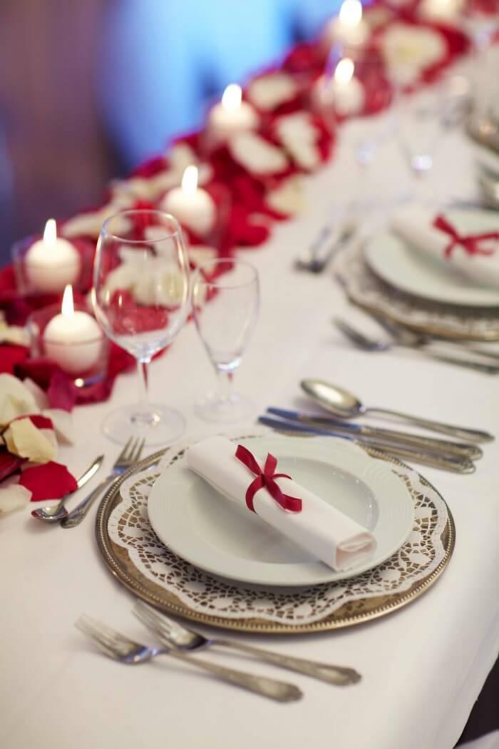 Tischdeko Hochzeit Servietten
