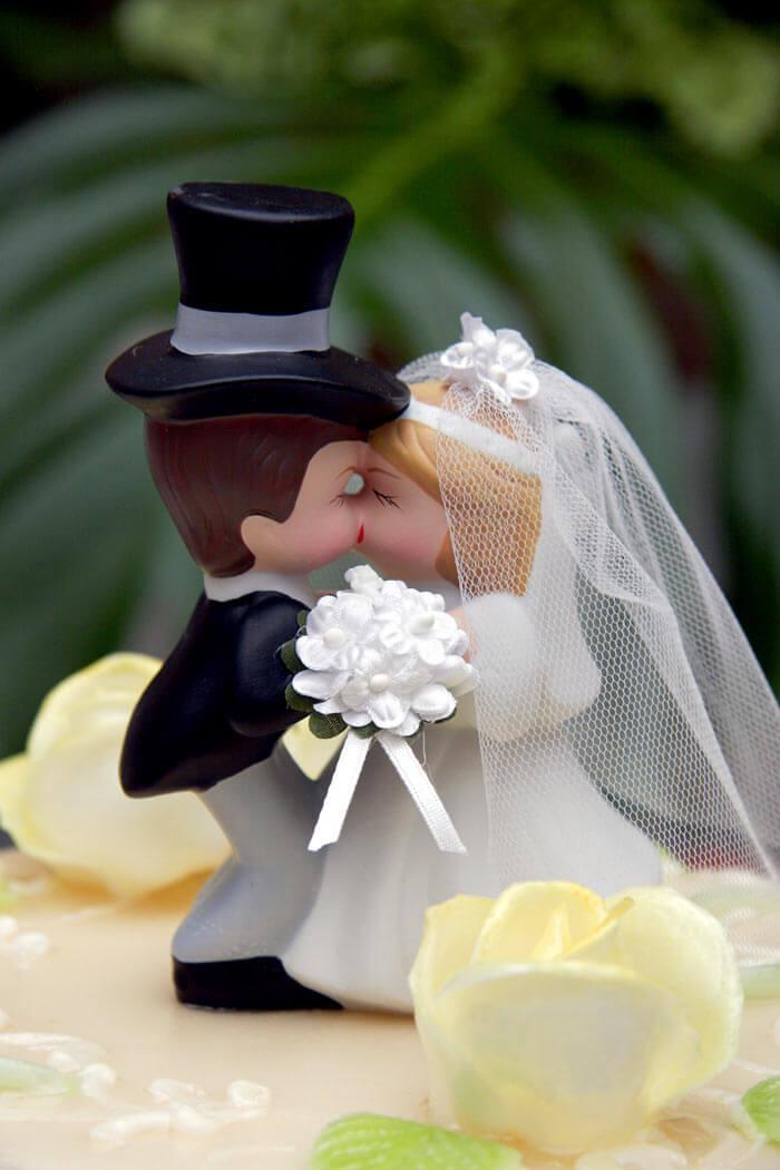 Tortenfigur Hochzeit