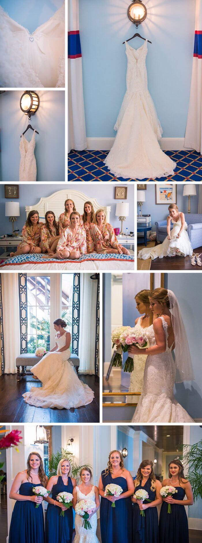 Hochzeit Blau