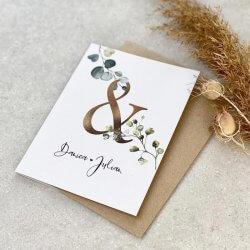 Hochzeit Glückwunschkarte