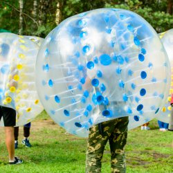 JGA Bubble Fußball