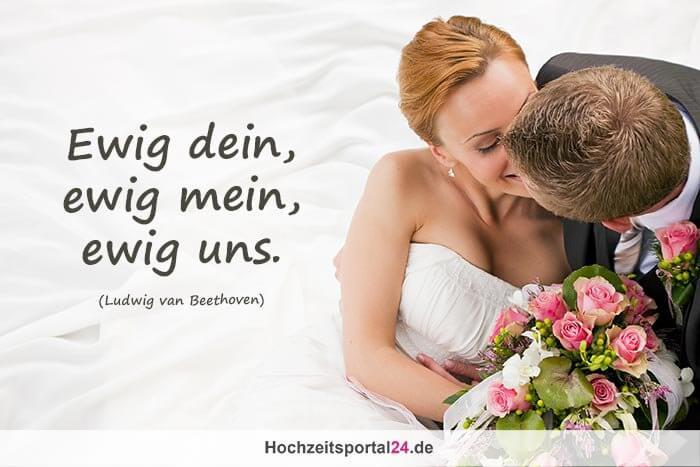 Spruch zur Hochzeit
