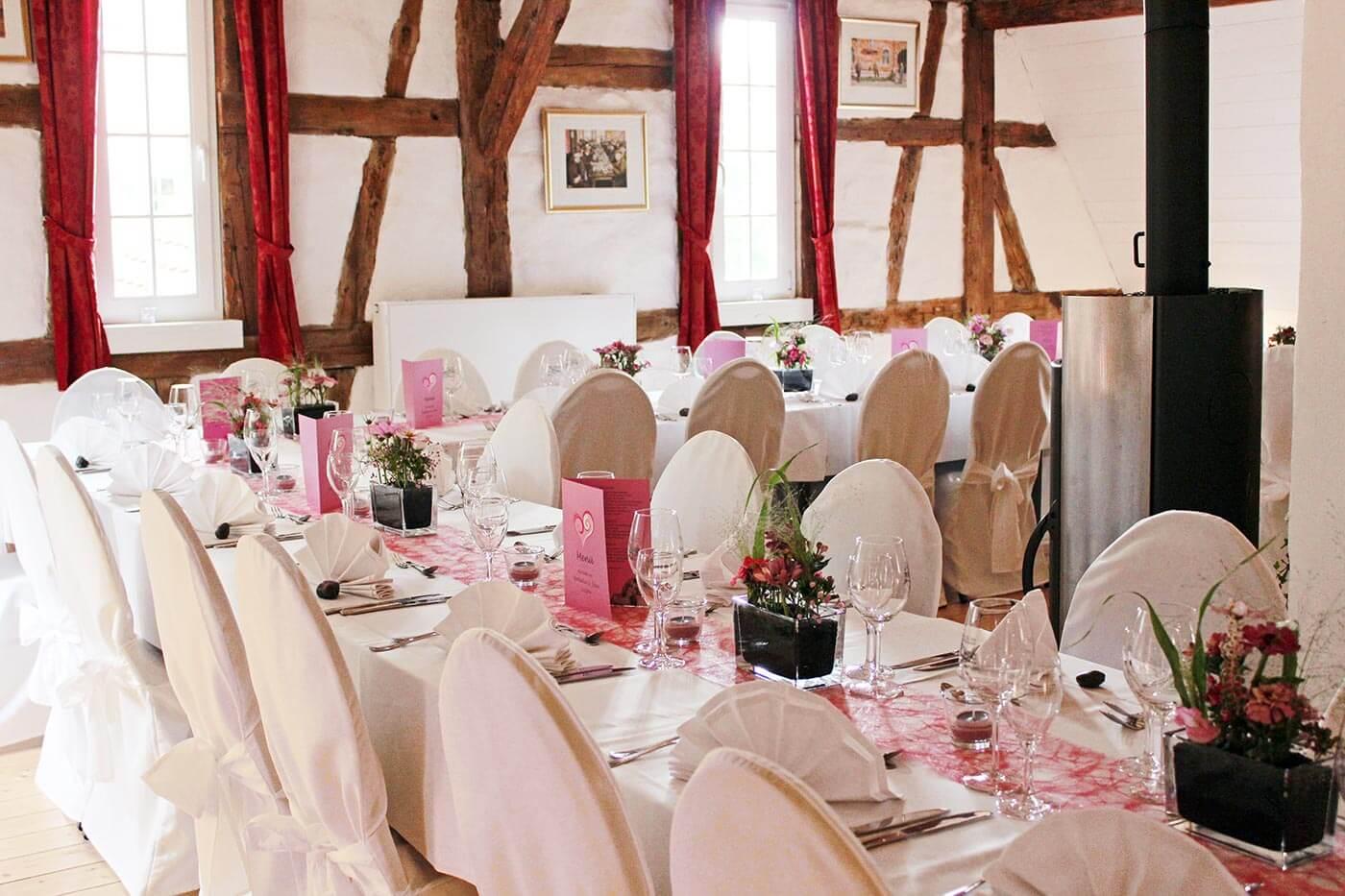 10 Hochzeitslocations im Enzkreis und Mühlacker