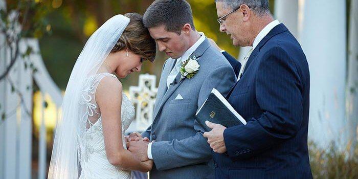 christliche Hochzeit