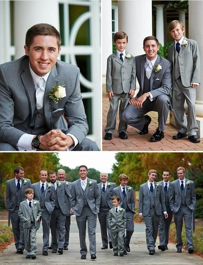 christliche Hochzeit der Bräutigam