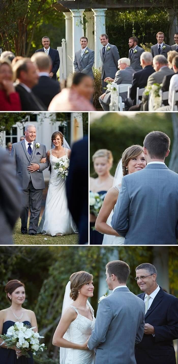 christliche Hochzeit die Trauung