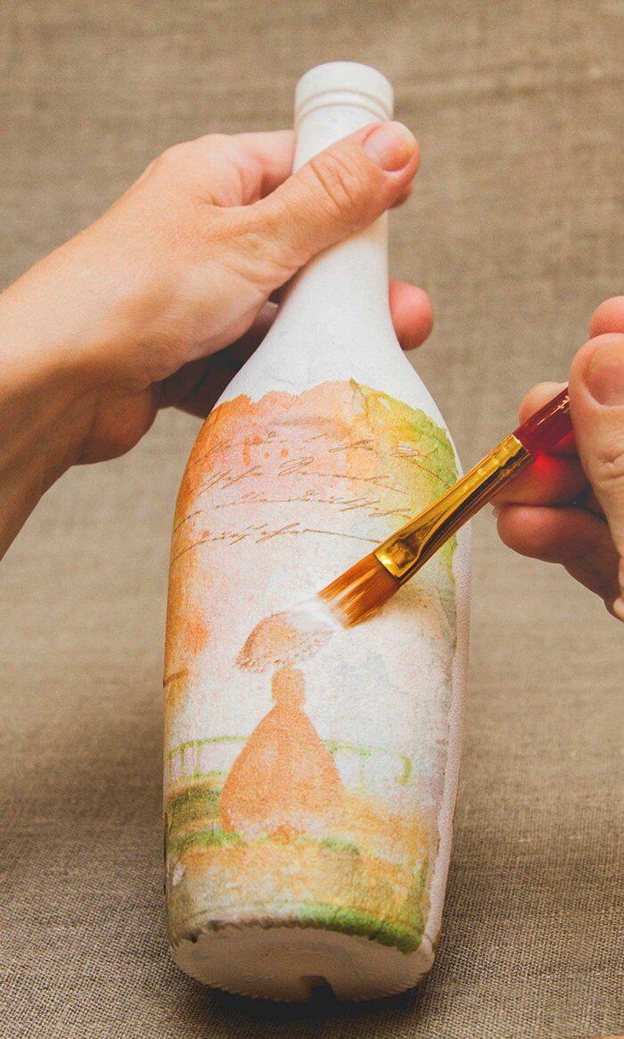 Basteln mit Flaschen