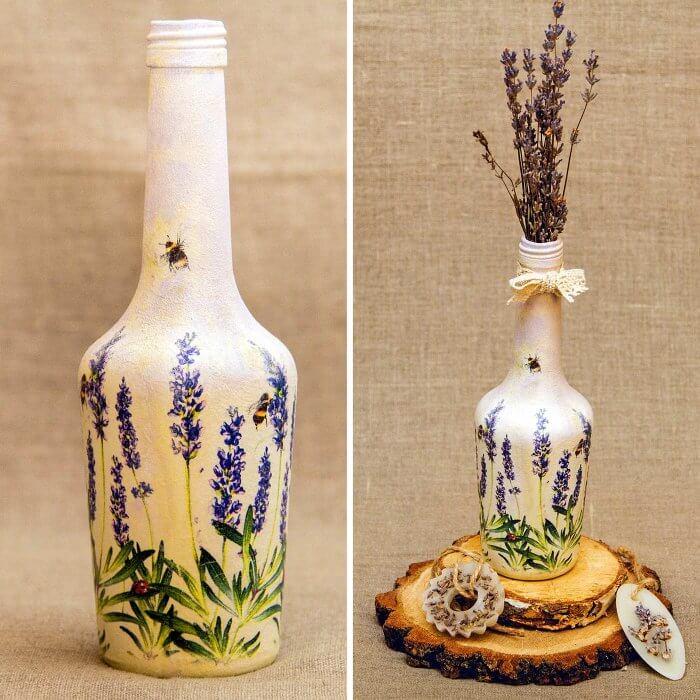 Flaschen verzieren