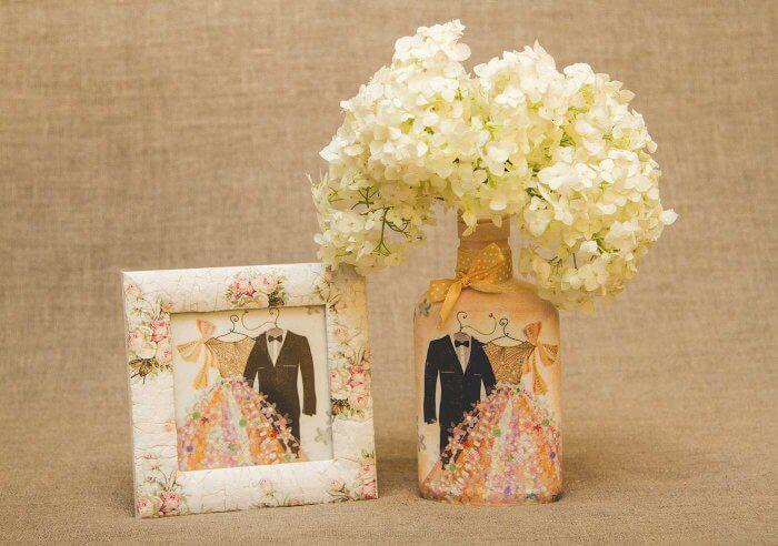 Hochzeitsdeko selber machen vintage