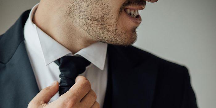 Krawatte binden Hochzeit