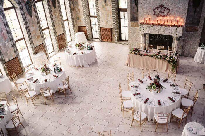 Hochzeitsdeko Schloss