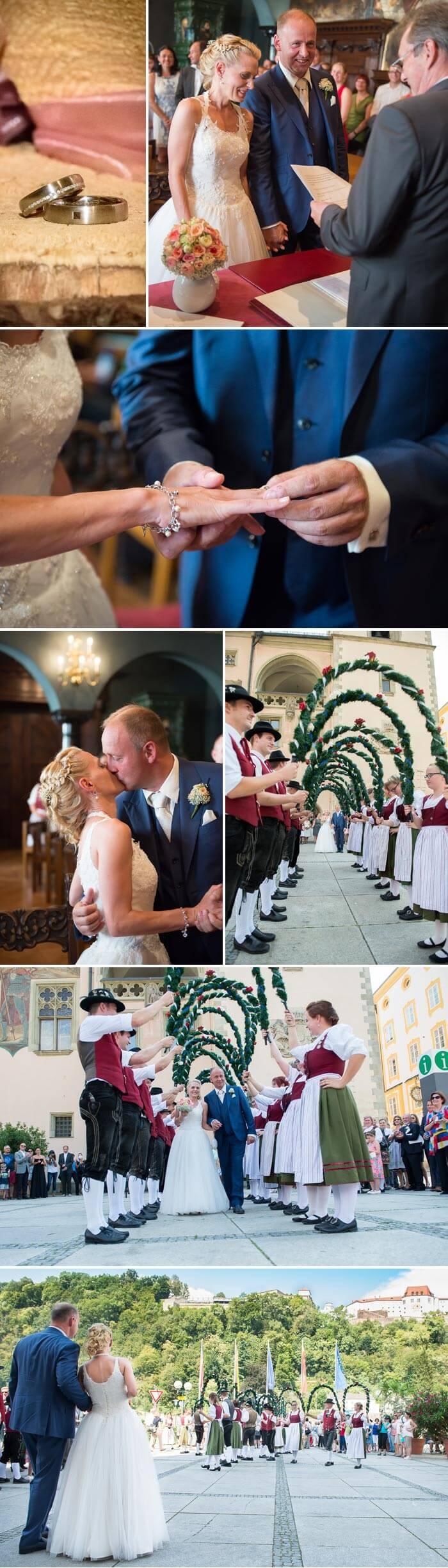 Bayerische Hochzeit Trauung