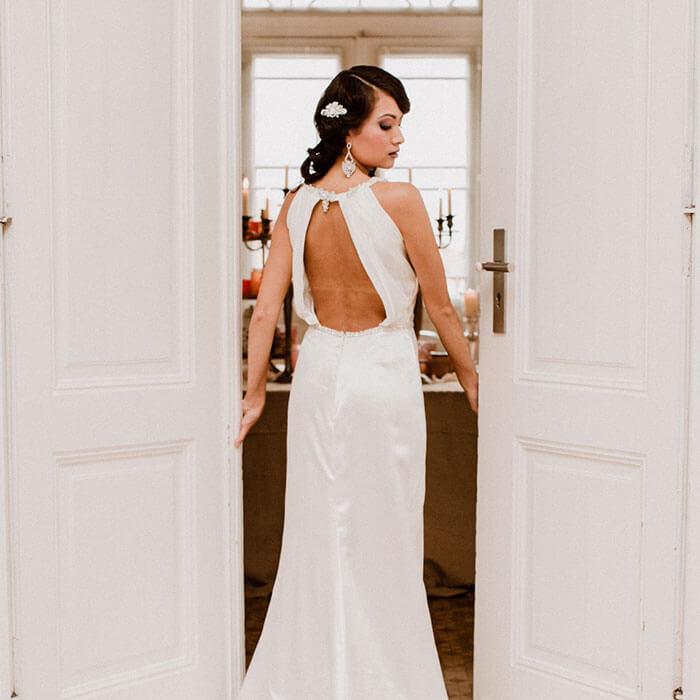 Barocke Hochzeitskleider