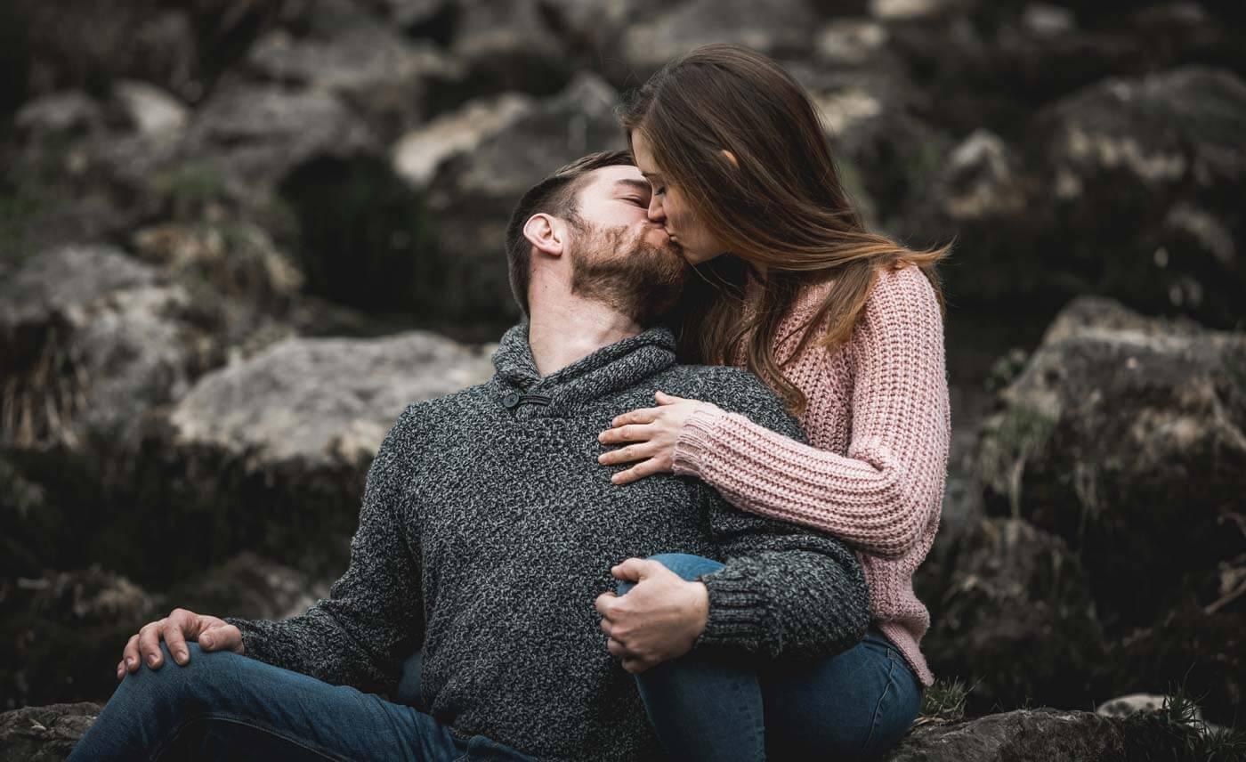 Fotoshooting Verlobung