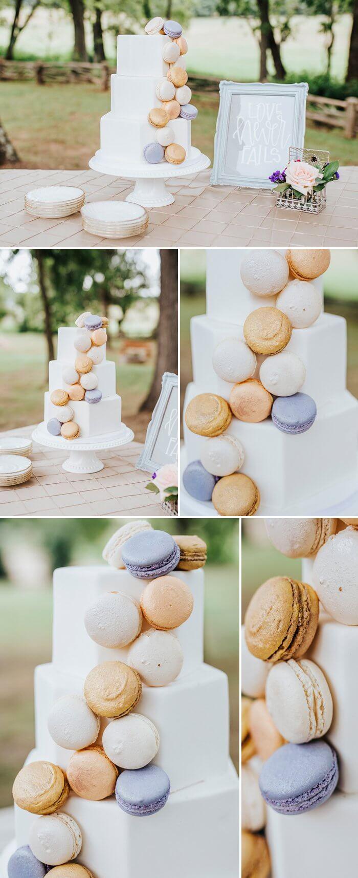 Macaron Hochzeitstorte
