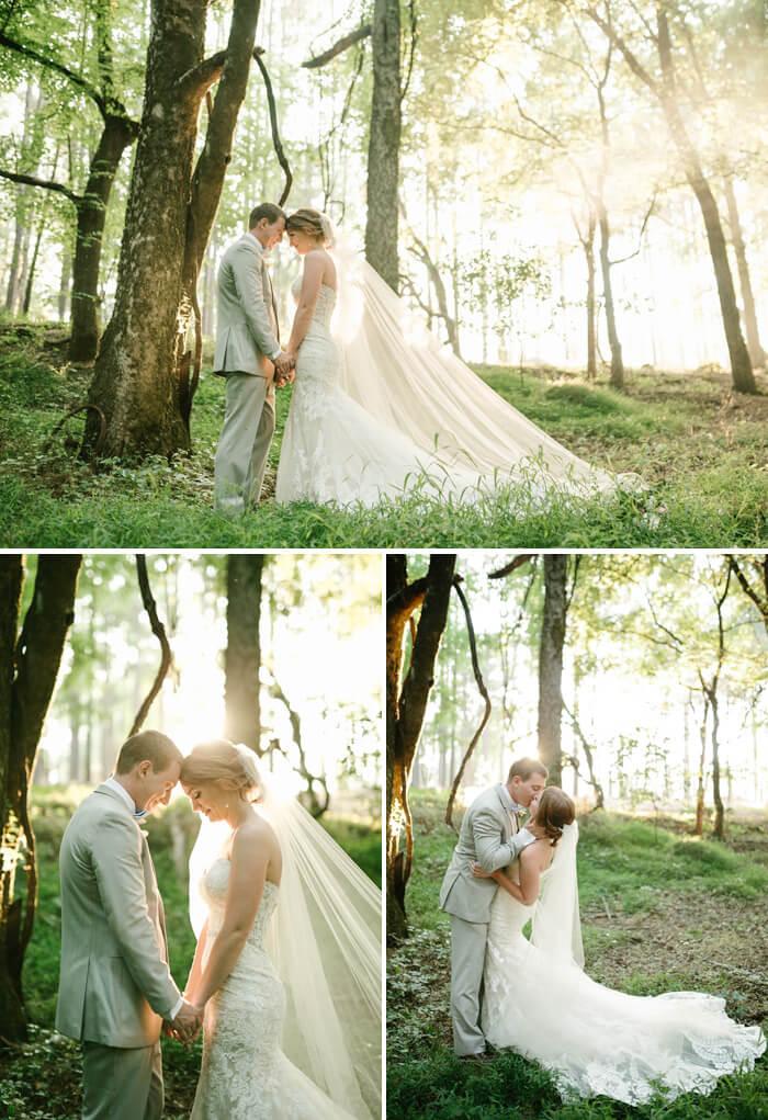 Brautpaarbilder Wald