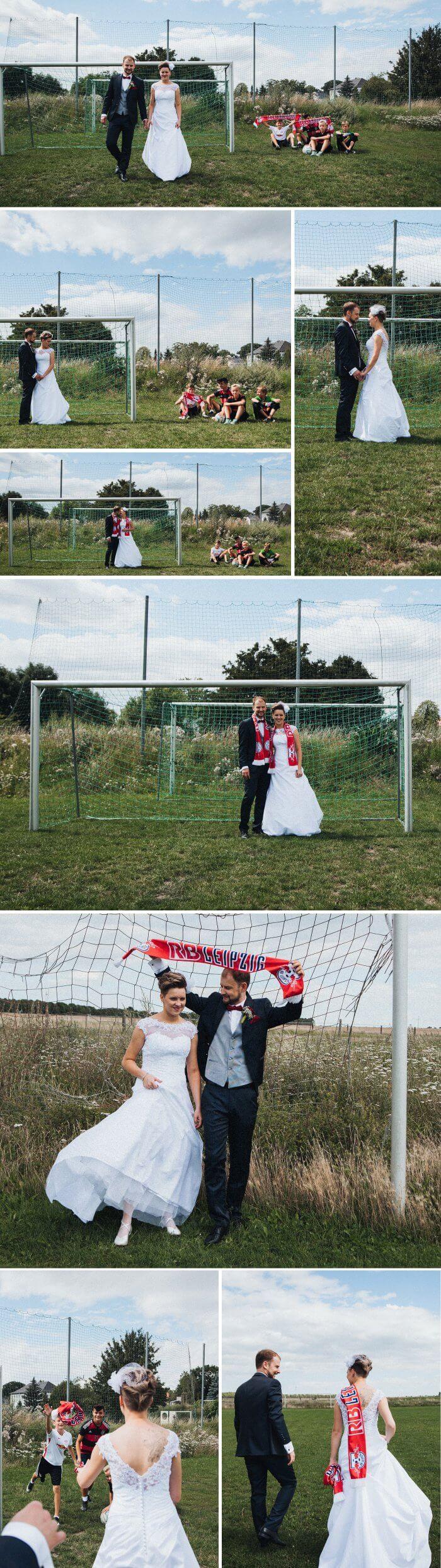 Fußball-Hochzeit