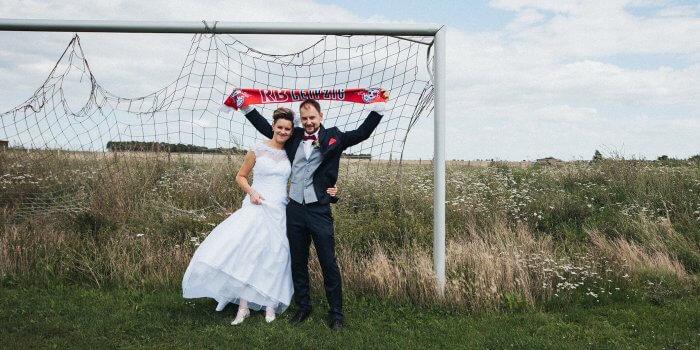 Fußball Hochzeitsmotto