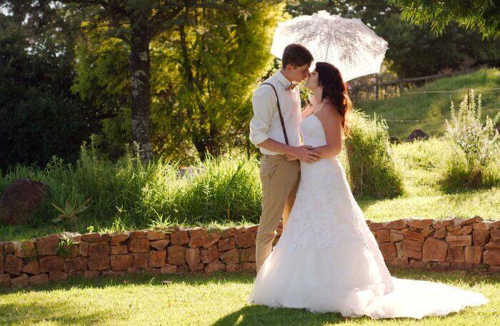 Hochzeitslocation Garten