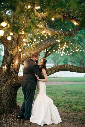 Hochzeitsparty im Garten