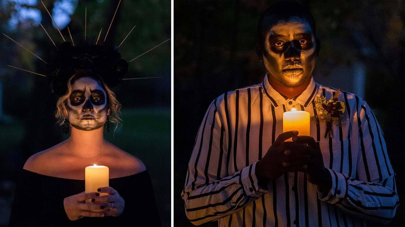 Halloween Brautpaar