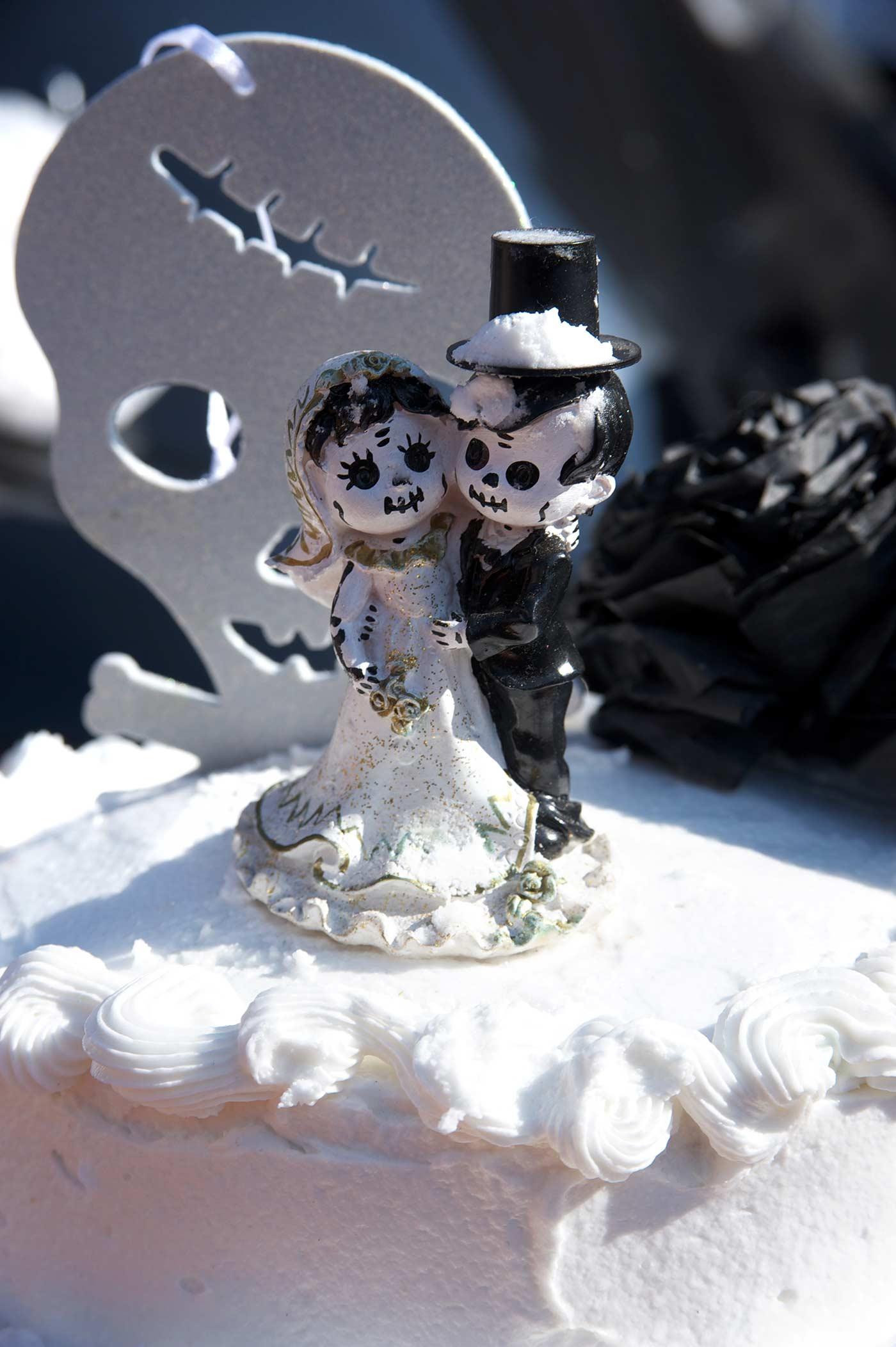 Gothic Brautpaar