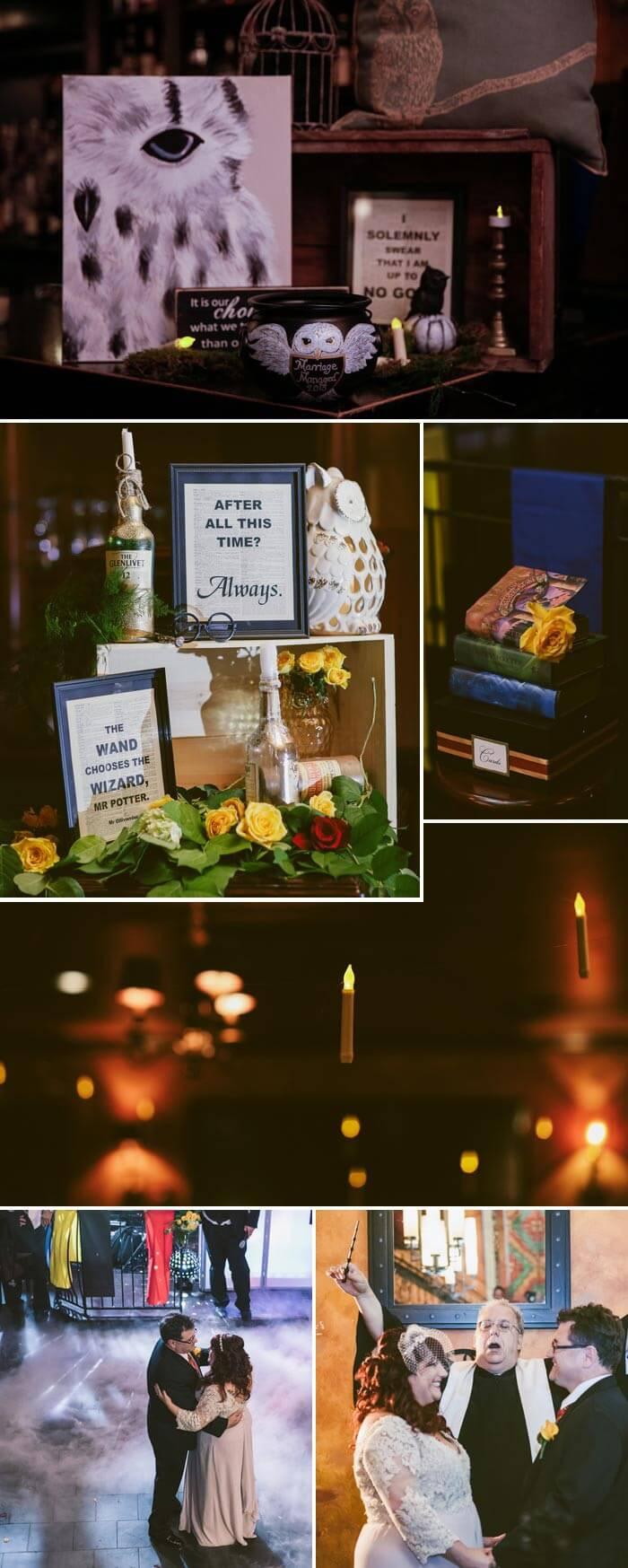 Harry Potter Hochzeit Deko