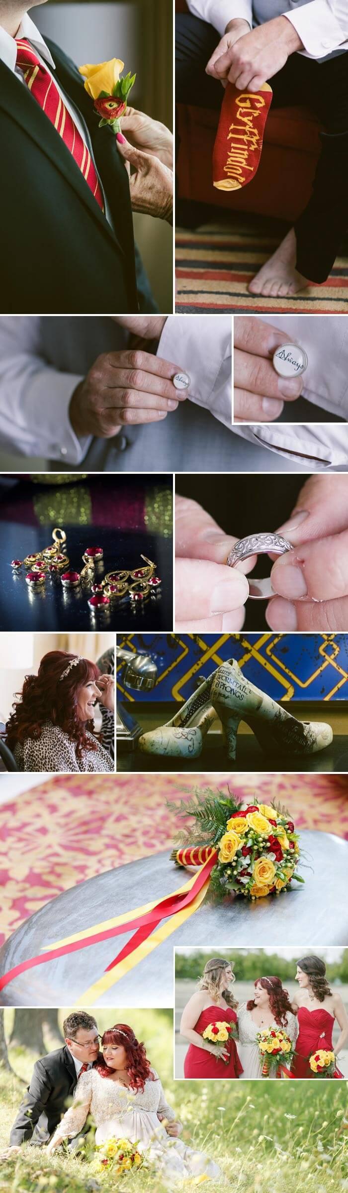 Harry Potter Hochzeit: Das Getting Ready